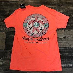 Brand new simply southern tee shirt